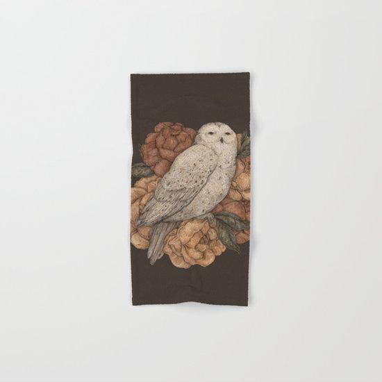 Snowy Owl Hand & Bath Towel