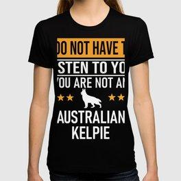 Australian Kelpie Barb Dog Australian Shepherd T-shirt