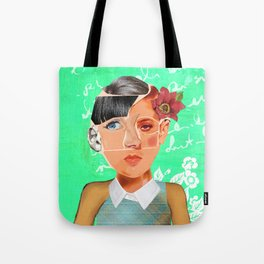 Many in One (Faces #1) Tote Bag