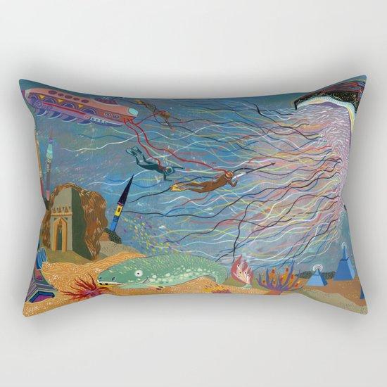 Divers Rectangular Pillow