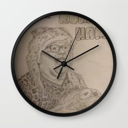 Who wants RUM HAM?! Wall Clock