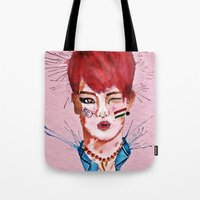 key Tote Bags featuring Key by Isaacson1974