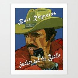 Smokey and the Bandit Art Print