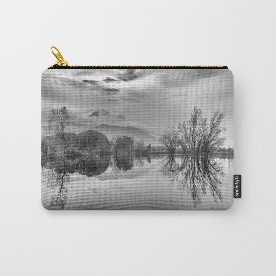 """""""Mammoth Paradise"""" Bw Carry-All Pouch"""