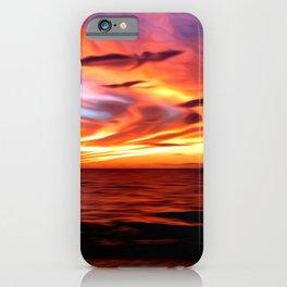 Honeymoon Sunset iPhone Case