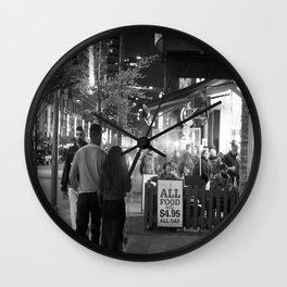 All food Wall Clock
