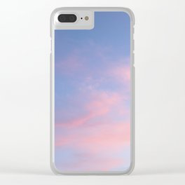 Always the same place - Nuances in the sky Clear iPhone Case