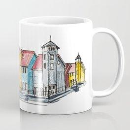 Holland architecture watercolor sketch Coffee Mug