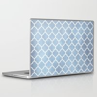 morocco Laptop & iPad Skins featuring MOROCCO - SLATE by pike design
