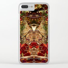 Winter warmth Clear iPhone Case