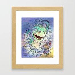 Sea Serpent Framed Art Print