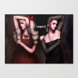 Alice and Maggie Canvas Print