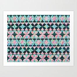 Midnight Maze Art Print