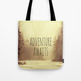 Adventure Awaits II Tote Bag