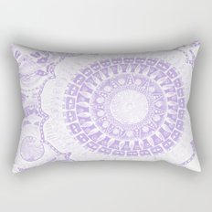 Indian Decoration Vector Rectangular Pillow