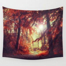 red woods Wall Tapestry
