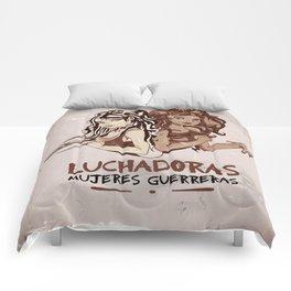 Luchadoras Comforters