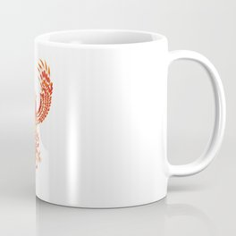 Mythical Phoenix Bird Coffee Mug