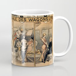 1896 Orient Express musical revue Paris Coffee Mug