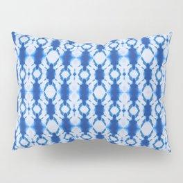rotary tie-dye pattern in cobalt Pillow Sham