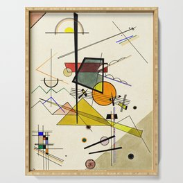 Wassily Kandinsky - Melodisch Serving Tray