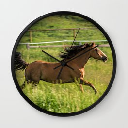 Run Romeo Wall Clock