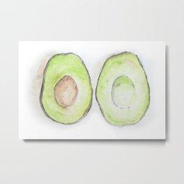 Avocados Metal Print