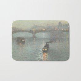 Birge Harrison - Evening On The Seine Bath Mat