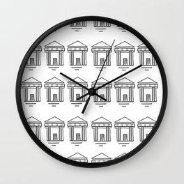 Temples Wall Clock