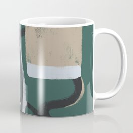 Grey brick Coffee Mug