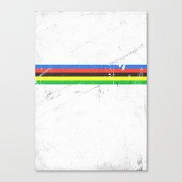 Jersey minimalist cycling Canvas Print