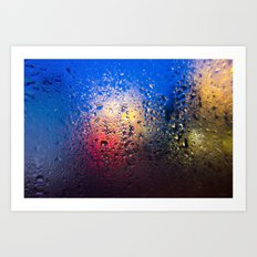 Condensation 10 - Lagoon Art Print