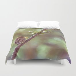 Time to eat Duvet Cover
