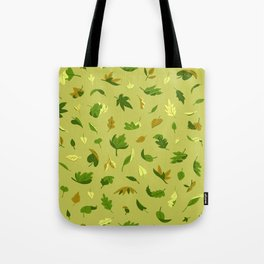Early Autumn Leaves Tote Bag
