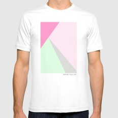 Pastel Mens Fitted Tee White MEDIUM