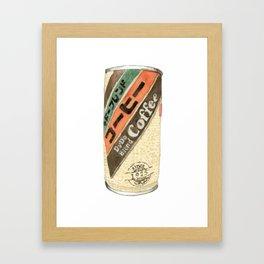 Dydo Coffee Can Framed Art Print