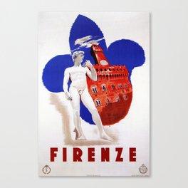Visit Florence Canvas Print