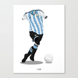 Argentina - World Cup 2014 Finalists  Canvas Print