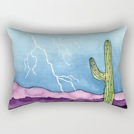Lightning Strike Rectangular Pillow