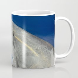 Making friends with a bottlenose dolphin Coffee Mug
