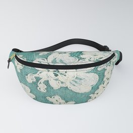 white lace - photo of vintage white lace Fanny Pack