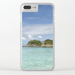 Clear Waters of St John Clear iPhone Case