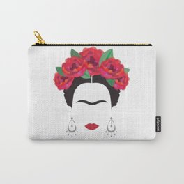 Frida eyebrowns Carry-All Pouch