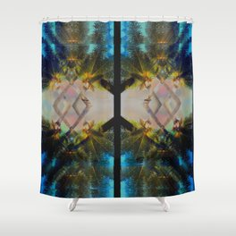 Overlapping Palms Shower Curtain