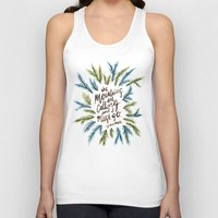 the mountains are calling Tank Tops featuring Mountains Calling by Cat Coquillette