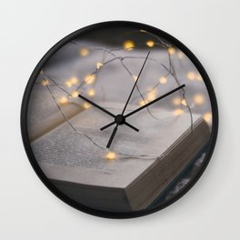 Read is dream with the open eyes Wall Clock