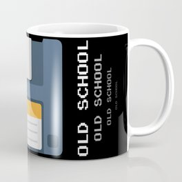 Old School Computer Floppy Diskette Coffee Mug