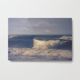 A Perfect Wave Metal Print