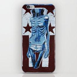 Love In America (Blue) iPhone Skin