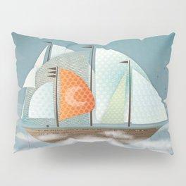 Sailing on clouds Pillow Sham